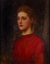George Frederick Watts, The artist's adopted daughter Lilian (study)