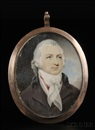Robert Field, Portrait miniature of a gentleman