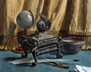 Laurence Hilliard, Desktop still life (+ another; pair)