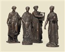 Workshop Of Giuseppe Boschi, Untitled (Goddesses)(set of 4)