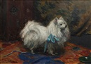 "Ethel L. Tanner, ""Prince"" - a Pomeranian (+ another; pair)"