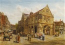 Thomas Greenhalgh, The Old Market square, Shrewsbury