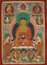 Anonymous-Bhutanese (19), A thangka of Shakyamuni Buddha