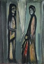 Pranas Domsaitis, Two figures