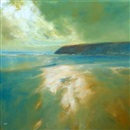 Jenny Aitken, Sand, sea and headland, Skye