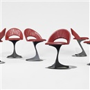 Santiago Calatrava, Chairs from the Tabourettli Theatre (set of 6)