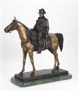 "After Louis Marie Moris, Emperor Napoleon I astride his horse ""Magrengo"""