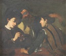 Follower Of Michelangelo Merisi da Caravaggio, Les joueurs de cartes