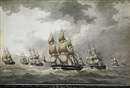 Nicholas Cammillieri, Warships preceding under sail (7 works)