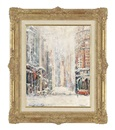 Felix Fabian, New York in snow