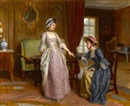 Charles Haigh-Wood, The engagement