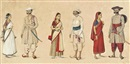 Indian School-Tanjore (19), Indian Courtiers and Attendants