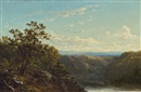 David Johnson, A View Near the Hudson