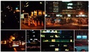 Jennifer Bolande, City at night series (11 works)