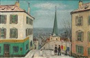Alois Lecoque, View of Montmartre
