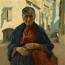 Ernest Martin Hennings, Hands of toil, Chioggia, Italy