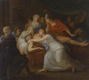 Circle Of Friedrich Heinrich Füger, Andromache lamenting the death of Hector