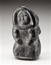 Anonymous-Inuit, Kneeling woman