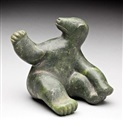 Anonymous-Inuit, Seated bear