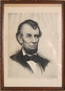 Josef Pierre Nuyttens, Portrait of Abraham Lincoln