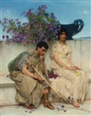 Sir Lawrence Alma-Tadema, An eloquent silence