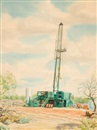 Warner Hoople, Oil rig