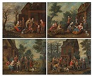 Anonymous-Flemish (18), Les quatre saisons (4 works)