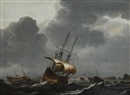 Attributed To Pieter Mulier the Elder, Marine