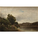 David Johnson, Study. On the Delaware. - at Hancock (Queen of the Meadow & Boneset)