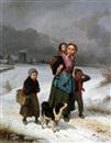 Louis Simon Cabaillot Lassalle, Returning home