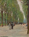 Jane Peterson, Paris Park Scene