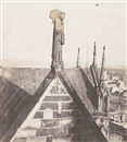 Charles Nègre, Angel of Resurrection on Roof of Notre Dame