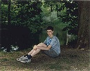 Rineke Dijkstra, Teenage boy in Vondelpark, Amsterdam, The Netherlands, May 12
