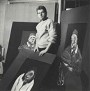 Cecil Beaton, Francis Bacon in his studio
