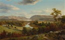 David Johnson, View from New Windsor, Hudson River