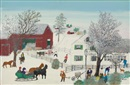Grandma Moses, Visitors