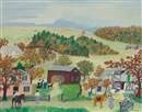 Grandma Moses, Saddle Bags