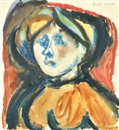 Margit Anna, Woman portrait