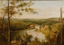 Attributed To Thomas Doughty, Brandywine River, View of the Schuylkill