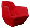 Ronan and Erwan Bouroullec, Red facett chair