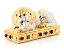 Judith Leiber, A laying down lion container