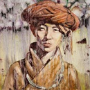 Hung Liu, Chinese Portrait