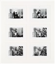 Duane Michals, Paradise regained (5 works framed together)