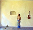 Brian James Dunlop, Nude with Guitar