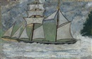 Alfred Wallis, A Sailing Ship