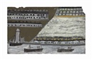 Alfred Wallis, Ships and Lighthouse, Houses