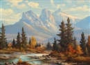 Duncan MacKinnon Crockford, Three sisters, Canmore