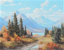 Duncan MacKinnon Crockford, Panther river country, Alta.