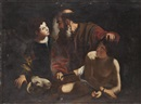 Follower Of Michelangelo (see CARAVAGGIO) Merisi, Il sacrificio di Isacco