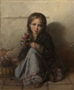 Nikolai Y. Rachkov, Little Flower Seller